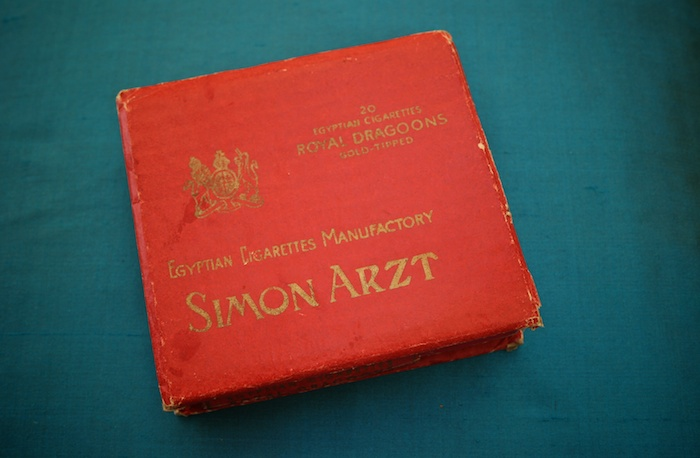 Simon Arzt Royal Dragoons Gold Tipped.