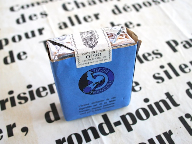 Gauloises Caporal bleu