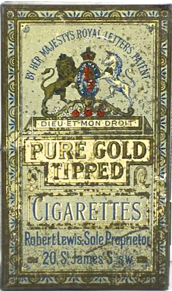 Pure Gold Tipped Cigarettes